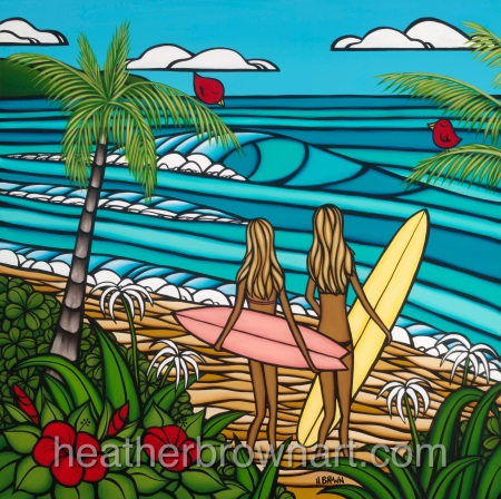Surf Sisters by Heather Brown-1