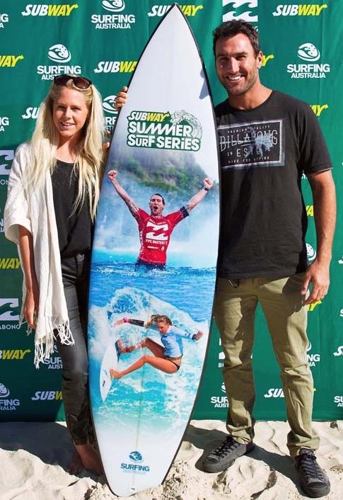 Surfing Australia Subway Summer Series