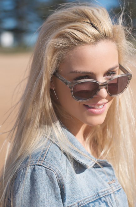 Katie Williams for Filtrate Eyewear copyright Bangalley Creative