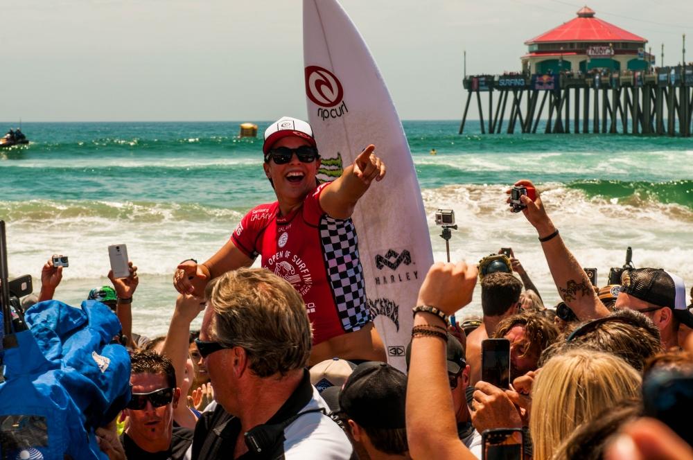 Tyler Wright Wins Vans US Open Photo: Brandon Mears