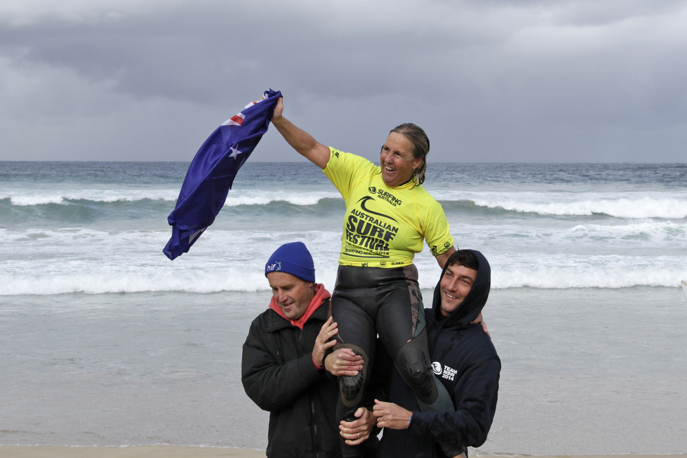 Sandra English Photo: Surfing Australia/Smith