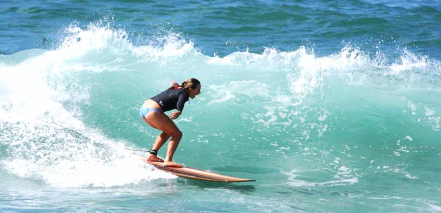 Emma Jeffcoat Photo: Wayne Behagg Surf Photography