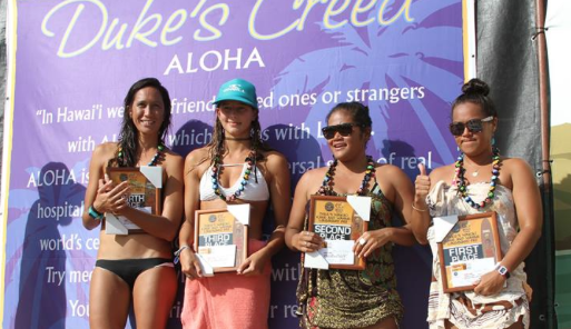 Dukes OceanFest Womens Longboard Finals