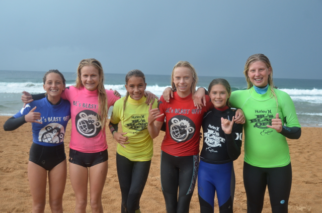 14s Girls Finalists Photo: The Mermaid Society