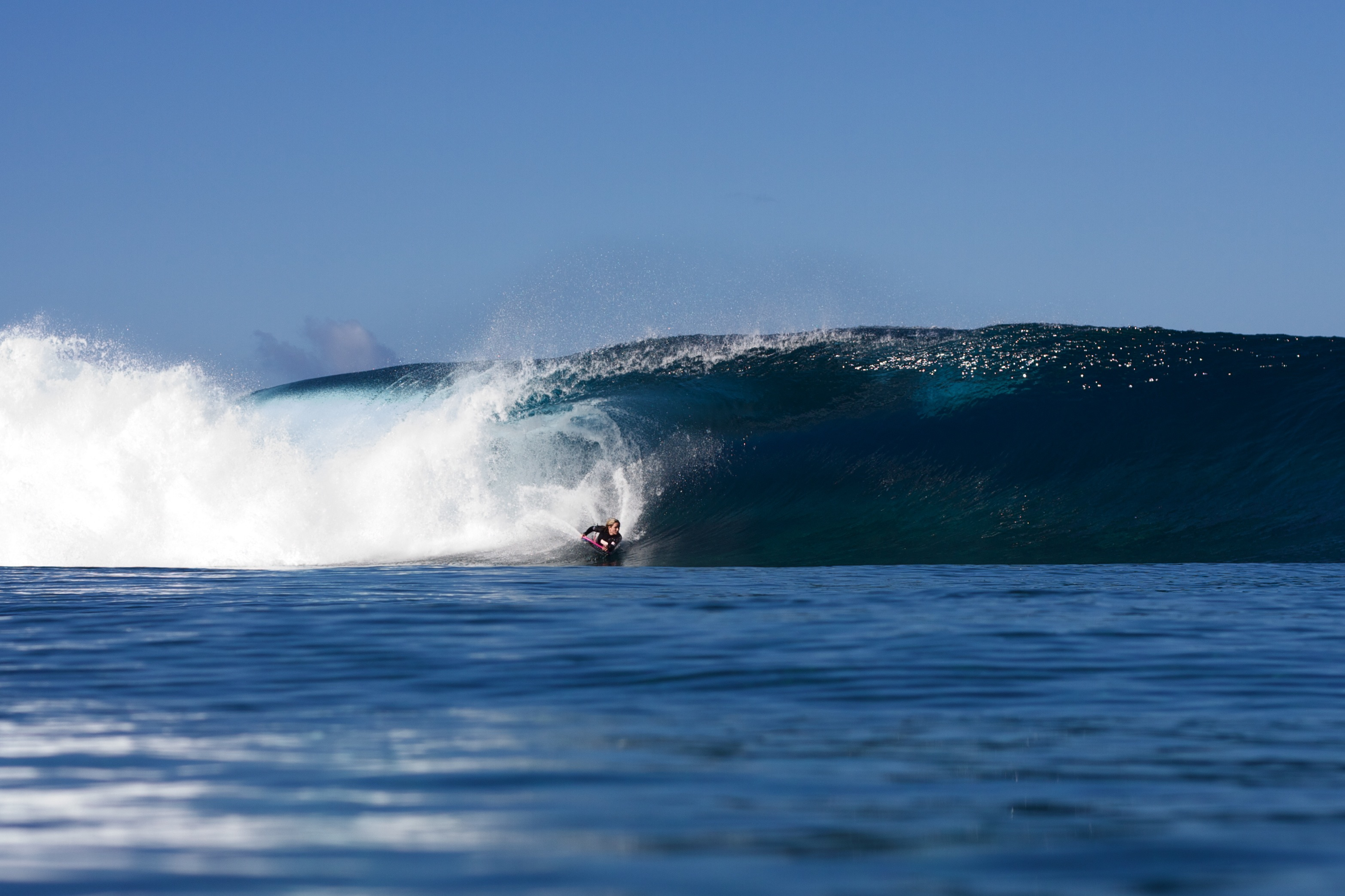 Teahupoo PHOTO: Emma Roby