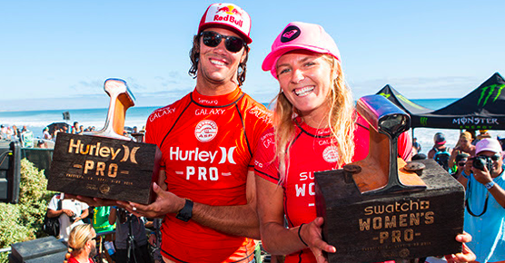 Stephanie Gilmore Wins Swatch Women's Pro 2014